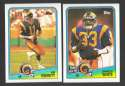1988 Topps Football Team Set - LOS ANGELES RAMS