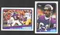 1988 Topps Football Team Set - MINNESOTA VIKINGS