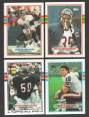 1989 Topps Football Team Set - CHICAGO BEARS