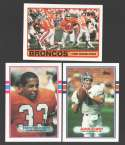 1989 Topps Football Team Set - DENVER BRONCOS