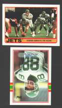 1989 Topps Football Team Set - NEW YORK JETS