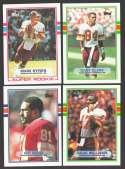 1989 Topps Football Team Set - WASHINGTON REDSKINS