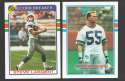 1989 Topps Football Team Set - SEATTLE SEAHAWKS