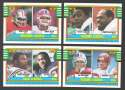 1990 Topps Football - League Leaders (4 card subset)