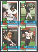 1990 Topps Football Team Set - CHICAGO BEARS