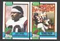 1990 Topps Football Team Set - CINCINNATI BENGALS