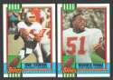 1990 Topps Football Team Set - TAMPA BAY BUCCANEERS