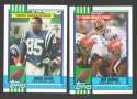 1990 Topps Football Team Set - INDIANAPOLIS COLTS