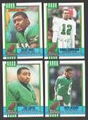 1990 Topps Football Team Set - PHILADELPHIA EAGLES