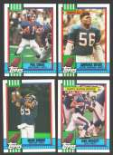 1990 Topps Football Team Set - NEW YORK GIANTS