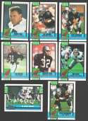 1990 Topps Football Team Set - LOS ANGELES RAIDERS