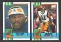 1990 Topps Football Team Set - LOS ANGELES RAMS