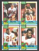 1990 Topps Football Team Set - WASHINGTON REDSKINS