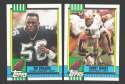 1990 Topps Football Team Set - NEW ORLEANS SAINTS