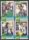 1990 Topps Football Team Set - MINNESOTA VIKINGS