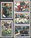 1991 Topps Football Team Set - CHICAGO BEARS