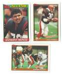 1991 Topps Football Team Set - CINCINNATI BENGALS