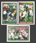 1991 Topps Football Team Set - PHILADELPHIA EAGLES