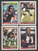 1991 Topps Football Team Set - ATLANTA FALCONS