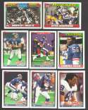 1991 Topps Football Team Set - NEW YORK GIANTS