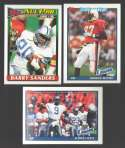 1991 Topps Football Team Set - DETROIT LIONS