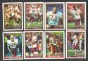 1991 Topps Football Team Set - WASHINGTON REDSKINS