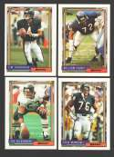 1992 Topps Football Team Set - CHICAGO BEARS