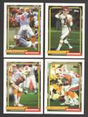 1992 Topps Football Team Set - TAMPA BAY BUCCANEERS