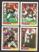 1992 Topps Football Team Set - KANSAS CITY CHIEFS