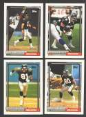 1992 Topps Football Team Set - ATLANTA FALCONS