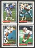 1992 Topps Football Team Set - HOUSTON OILERS