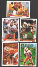 1993 Topps Football Team Set - TAMPA BAY BUCCANEERS