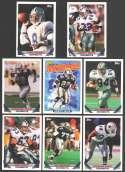 1993 Topps Football Team Set - DALLAS COWBOYS