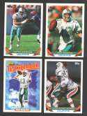 1993 Topps Football Team Set - MIAMI DOLPHINS