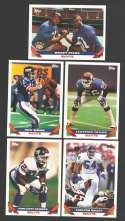 1993 Topps Football Team Set - NEW YORK GIANTS