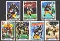 1993 Topps Football Team Set - PITTSBURGH STEELERS