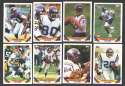 1993 Topps Football Team Set - MINNESOTA VIKINGS