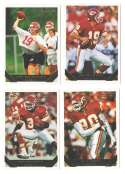 1993 TOPPS GOLD Football Team Set - KANSAS CITY CHIEFS