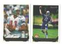 1993 TOPPS GOLD Football Team Set - NEW ENGLAND PATRIOTS