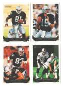 1993 TOPPS GOLD Football Team Set - LOS ANGELES RAIDERS