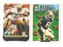 1993 TOPPS GOLD Football Team Set - NEW ORLEANS SAINTS