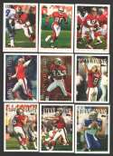 1995 Topps Football Team Set - SAN FRANCISCO 49ERS