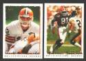 1995 Topps Football Team Set - CLEVELAND BROWNS