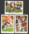 1995 Topps Football Team Set - KANSAS CITY CHIEFS