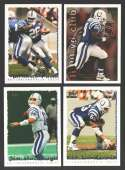 1995 Topps Football Team Set - INDIANAPOLIS COLTS