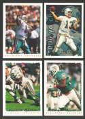 1995 Topps Football Team Set - MIAMI DOLPHINS