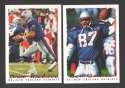 1995 Topps Football Team Set - NEW ENGLAND PATRIOTS