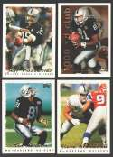 1995 Topps Football Team Set - OAKLAND RAIDERS