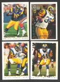 1995 Topps Football Team Set - ST. LOUIS RAMS