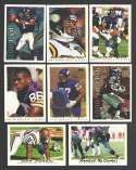 1995 Topps Football Team Set - MINNESOTA VIKINGS